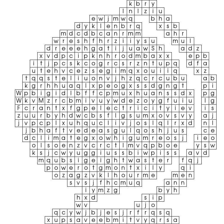 This word search was uploaded by OFE under the Creative Commons 'by ...